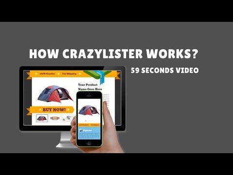 CrazyLister - Easily Create Professional, Mobile Optimized eBay Listings