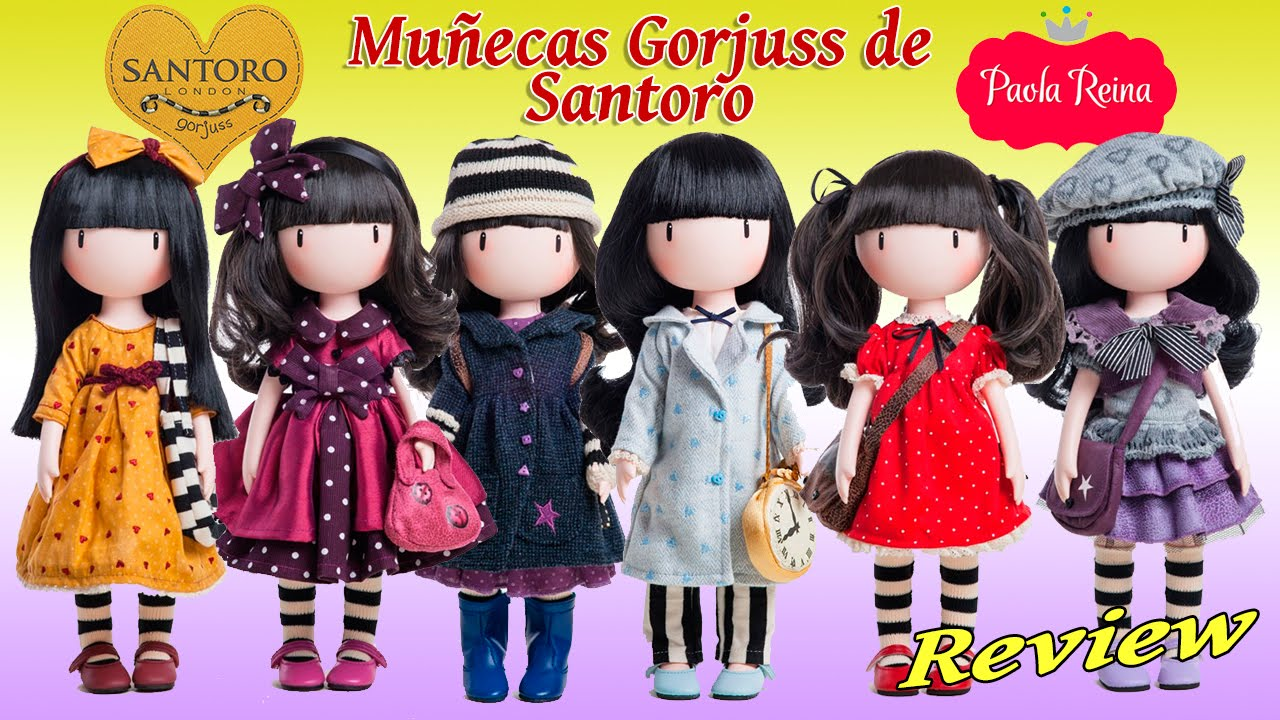 Gorjuss de Santoro - Muñecas de Paola Reina - YouTube