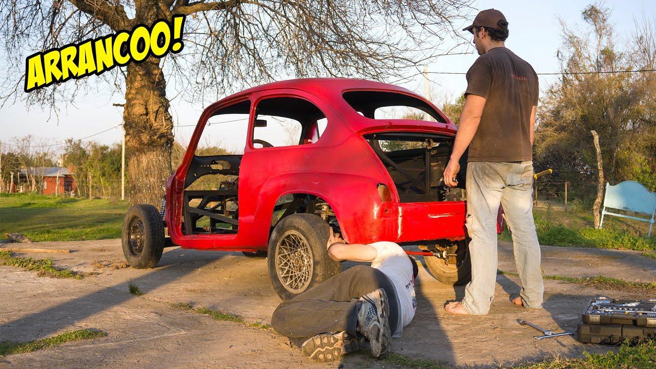 ARRANCAMOS EL NUEVO MOTOR DEL FIAT 600 1.600CC - ARMAMOS EL FIAT 600 - Radialero Team