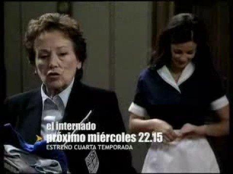 El Internado Escena 4 Temporada - El nuevo profesor de Mates - YouTube