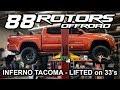 2017 Toyota Tacoma TRD Sport Inferno Lifted & PRO Wheels!
