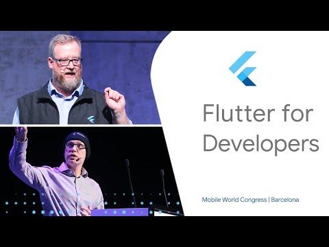 Flutter for Developers (Mobile World Congress '19)