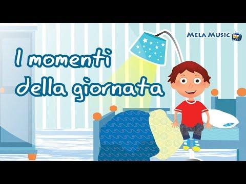 I momenti della giornata - Canzoni per bambini