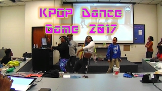 kpop dance game 2017 hosted by o a xiii