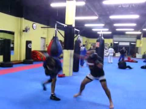 Sparring session NZT