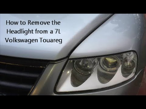 hqdefault how to remove the headlight from a volkswagen touareg youtube  at suagrazia.org