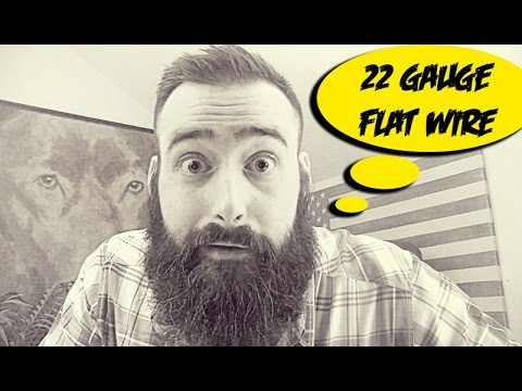 22 Gauge Flat Kanthal - YouTube