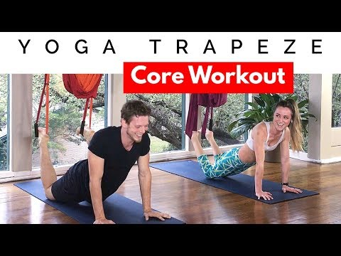 Yoga Trapeze Core Workout -  Video 2 for Beginners