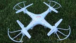 Квадрокоптер. Падение  Syma X5C. Какой купить новый дрон?(, 2016-07-26T23:59:38.000Z)