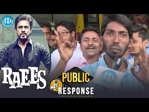Raees Movie Public Response / Review    Shah Rukh Khan    Mahira Khan    Rahul Dholakia