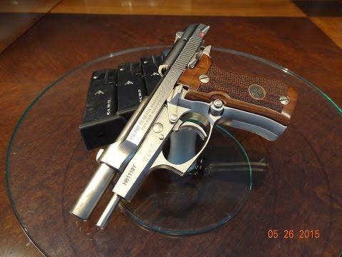 Beretta 84FS Cheetah - range shooting - Беретта 84ФС - часть 2 - стрельба в тире