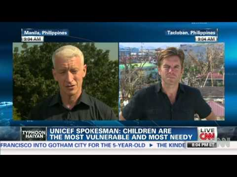 Many Typhoon Haiyan survivors still seeking help - Anderson Cooper