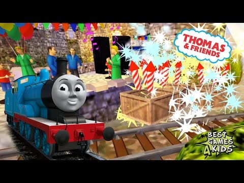 THOMAS Transport party guests to the castle!   Thomas & Friends: Express Delivery By Budge Studios