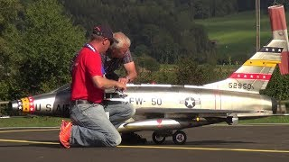 R/C JET CLASSIC F-100 AND F-104 RC TURBINE SCALE MODEL JETS RADIO CONTROLLED
