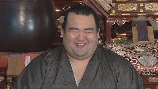 1月の大相撲初場所で10年ぶりの日本出身力士優勝を果たした大関琴奨...