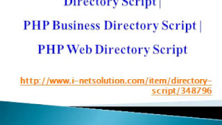 PHP Business Directory Script, PHP Web Directory Script, Directory Script
