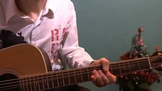 Уроки гитары В Лесу Родилась Ёлочка Новогодний урок