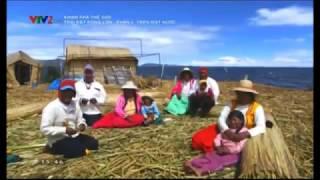 [Learn 8]  Cuộc sống trên mặt hồ ( titicaca ) của người URO