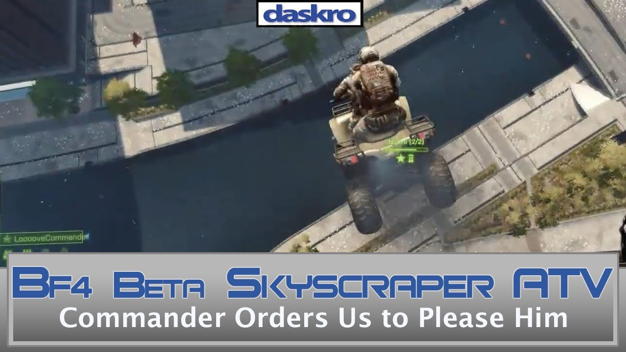 how to become commander on bf4