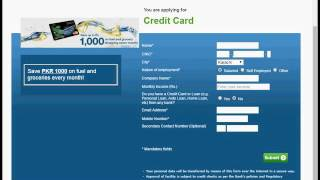 How to apply titanium Credit card master cards