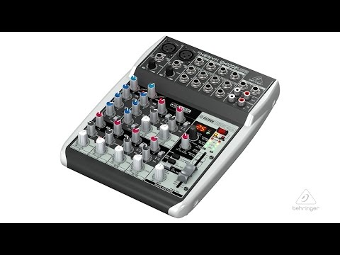 XEYNX QX1002USB Small Format Mixer & USB Audio Interface