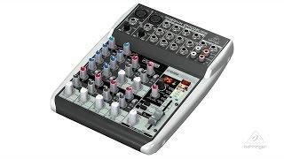 XEYNX QX1002USB Small Format Mixer & USB Audio Interface