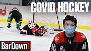 PLAYING BEER LEAGUE HOCKEY WITH SPECIAL COVID RULES