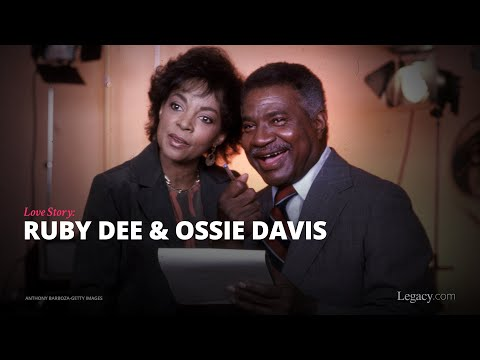 Little Known Black History Fact: Ossie Davis And Ruby Dee