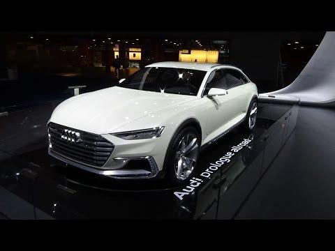Concept - Audi prologue allroad - Auto Show Brussels 2016