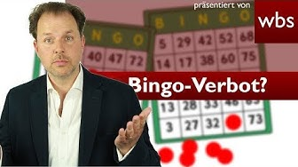 Illegales Glücksspiel – Bingo-Verbot in Seniorenheim | Rechtsanwalt Christian Solmecke