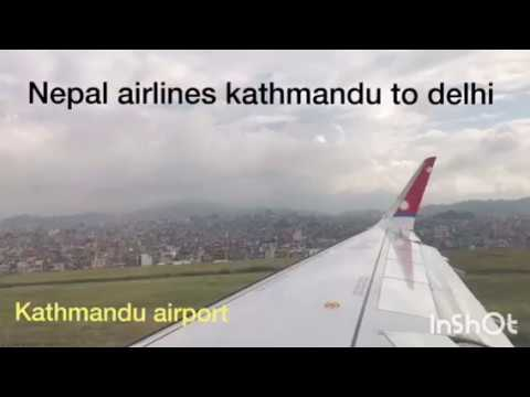 Nepal airlines 2017/Kathmandu to Delhi/My flight was on-time & good breakfast/Support Nepal airline