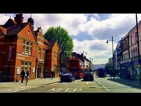 Driving in London - Wimbledon Common to Wimbledon