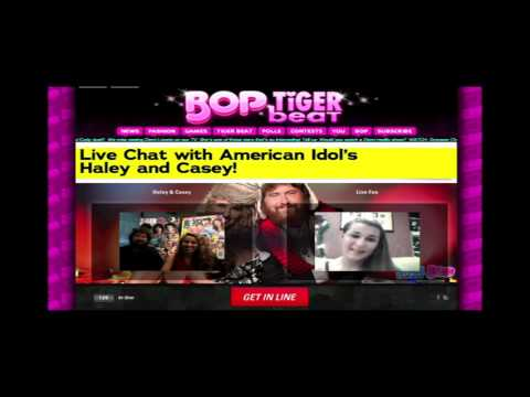 Haley + Casey's Live Chat at Tigerbeat