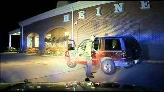 Officer Gregory Engel felony arrest