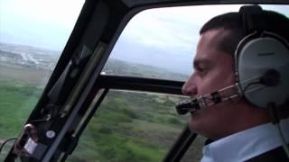 Helicópteros Offshore. Piloto Carlos Eduardo Monteiro