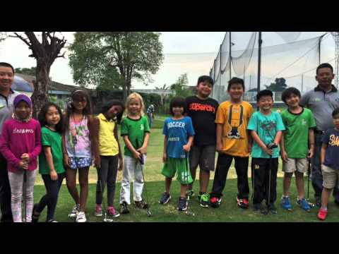 Junior Golf Program by PERSATUAN GOLF INDONESIA (PGI) in Medan Independent School