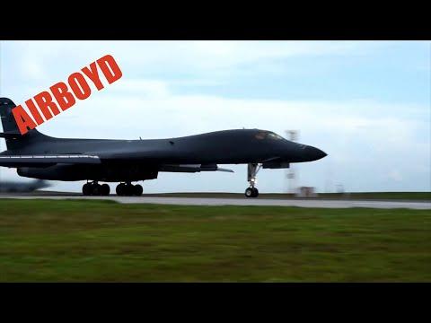 B-1B Bombers Departing Andersen Air Force Base, Guam