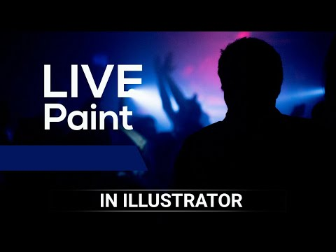 ILLUSTRATOR TUTORIAL Class 10 | LIVE PAINT TOOL & LIVE PAINT BUCKET TOOL | URDU/HINDI thumbnail