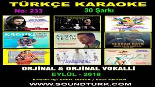 TÜRKÇE KARAOKE - İdo Tatlıses - Sen - (2019) - www.soundturk.com Video