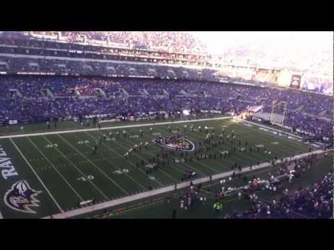 """Baltimore Ravens """"Marching Ravens"""" 9/10/12"""