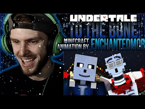"Vapor Reacts #771 | UNDERTALE SONG ""To The Bone"" Minecraft Animation by EnchantedMob REACTION!! thumbnail"
