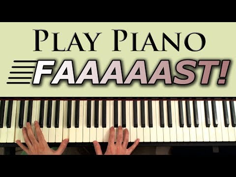 Play Piano Fast: Tips on Speeding up your Piano Runs