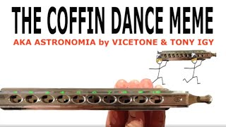 How to Play the Coffin Dance Meme Tune on a Chromatic Harmonica