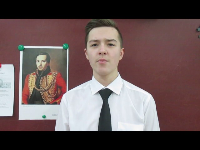 Изображение предпросмотра прочтения – МаксимКвашин читает отрывок изпроизведения «Мцыри» М.Ю.Лермонтова
