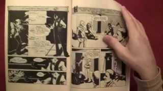 Reading Comics: Comico Primer #2, Matt Wagner's Grendel, First Appearance, 1982 -- ASMR -- Male