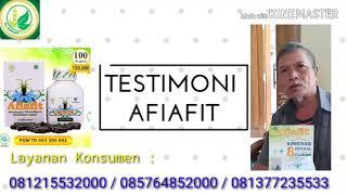 Obat Herbal Asam Urat dan Kolesterol AFIAFIT Yogyakarta