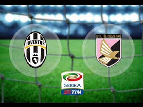 Juventus vs Palermo 4 1 ● All Goals &...