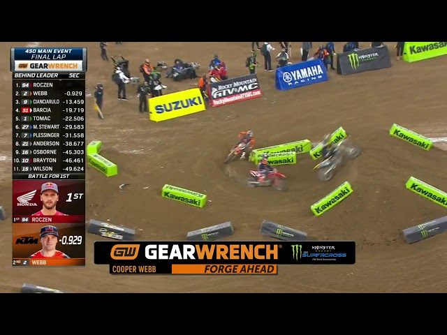 GEARWRENCH 450SX Top Performance - Round 3