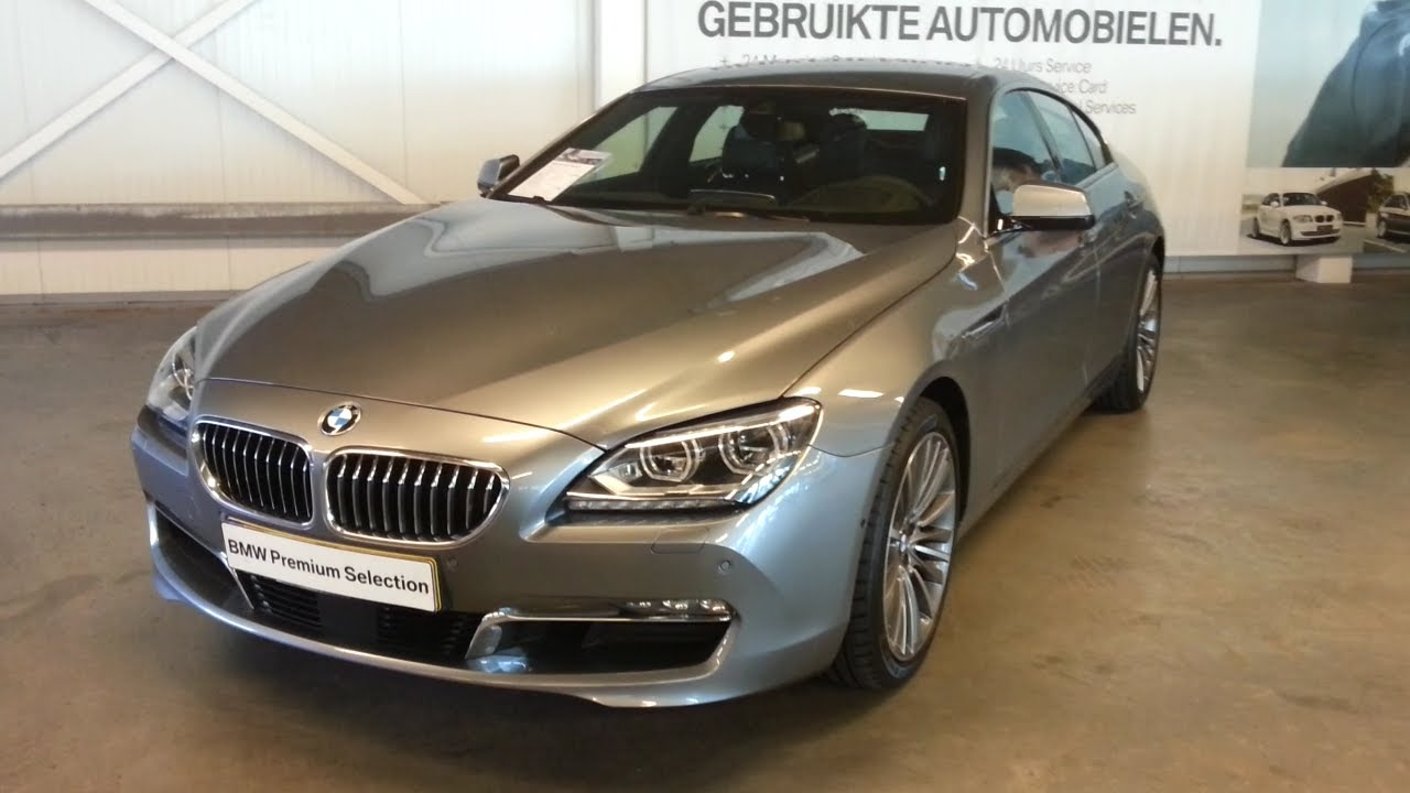 BMW 6 Series Grancoupe 2014 In Depth Review Interior