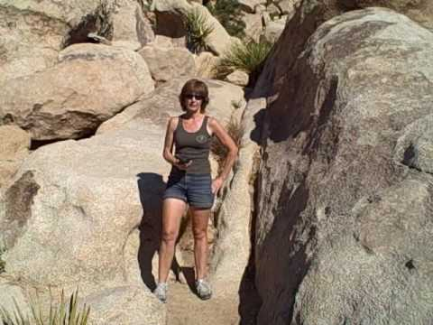 The Boulder Cave With Iron Door In Joshua Tree National Park Calif.    YouTube